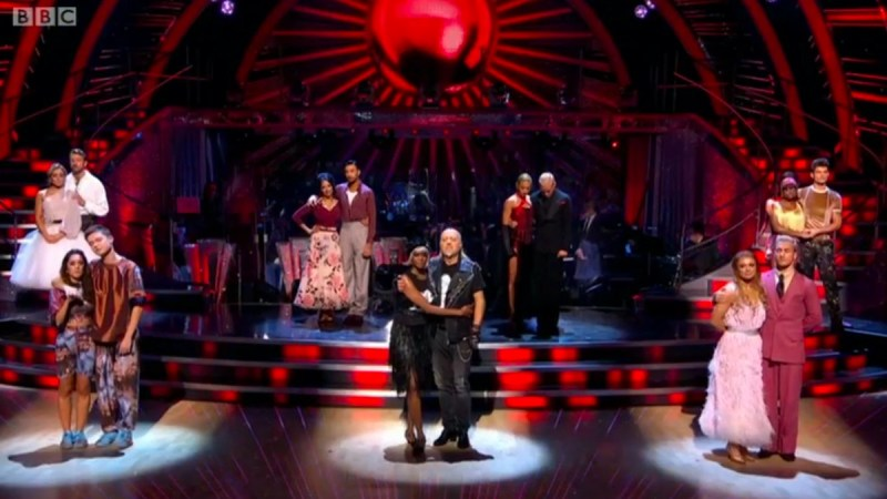 strictly come dancing 2020 results 29 november