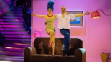 Live show 3 - Movie weekDianne Buswell, Max George -