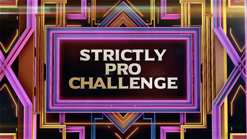 strictly come dancing pro challenge
