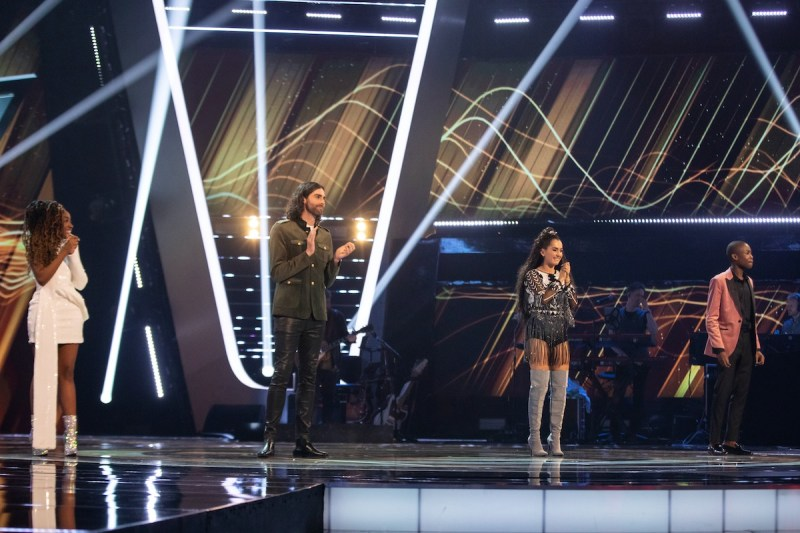 The Voice UK 2020 finalists