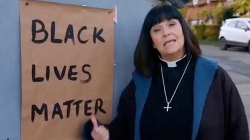 black lives matter vicar dibley