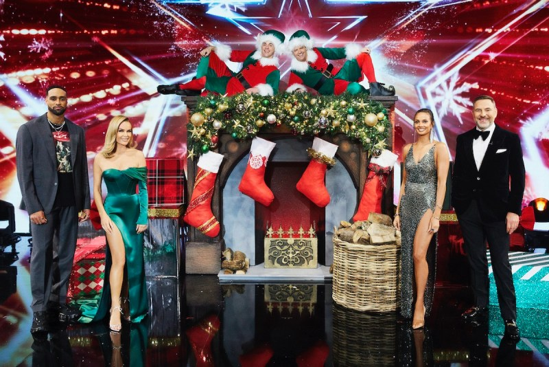 Britain's Got Talent Christmas Special. Picture: ITV