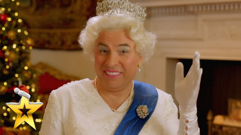 david walliams as queen bgt
