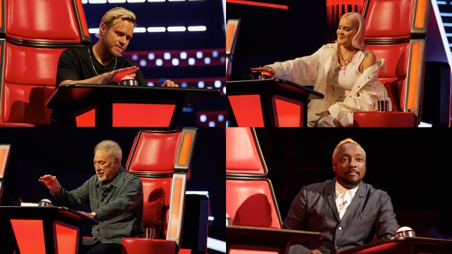 the voice uk 2021 coaches
