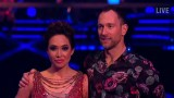 Myleene Klass dancing on ice