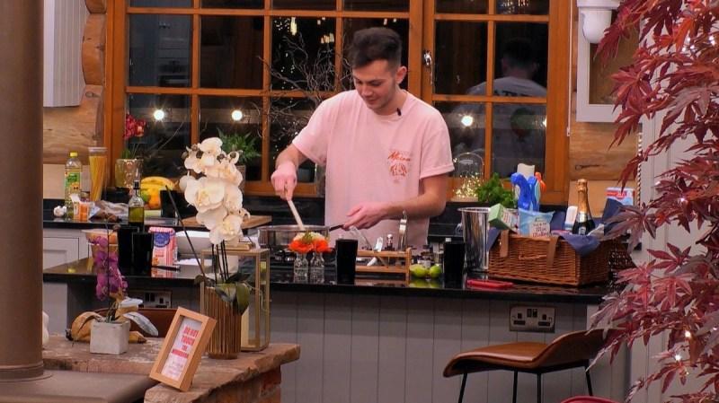 'Jordan Ramsay' in the kitchen.