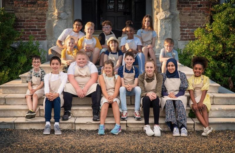 Junior Bake Off 2021 contestants