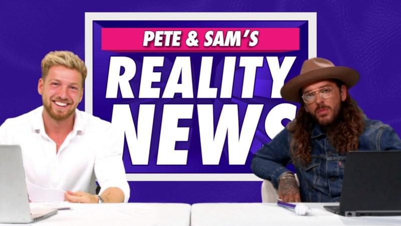 pete and sam reality news