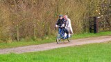 Liam and Andras go on a tandem bike ride.