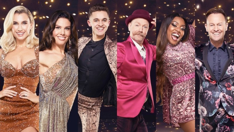 dancing on ice line up