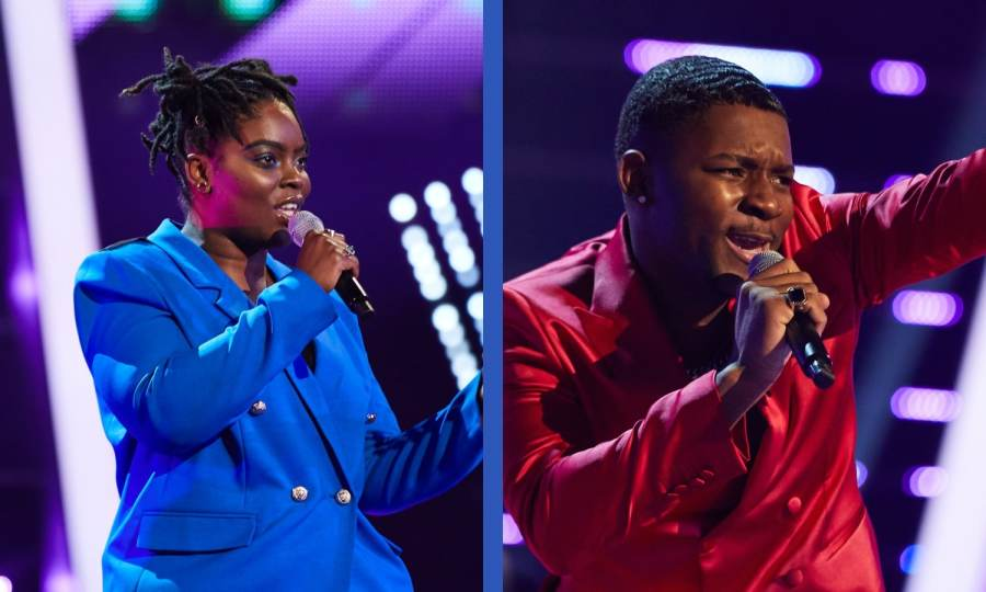 Team Will: Janel Antoneshia and Okulaja perform.
