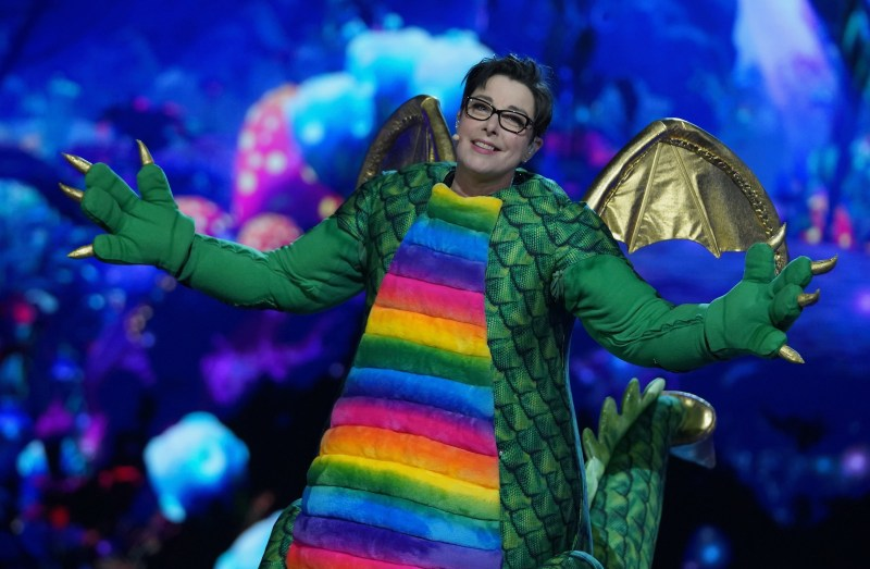 Dragon is Sue Perkins