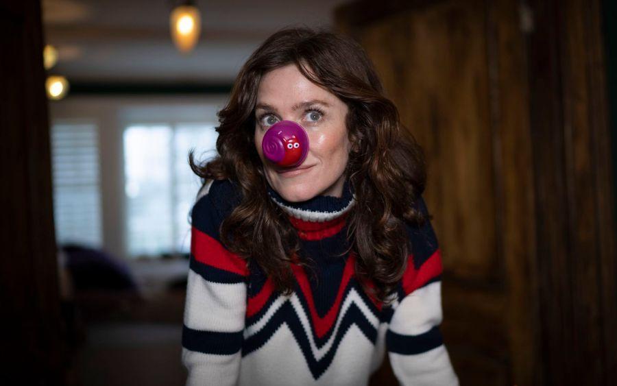 Comic Relief - 2020 The Movie -  Anna Friel - (C) BBC - Photographer: Mickey Bishop