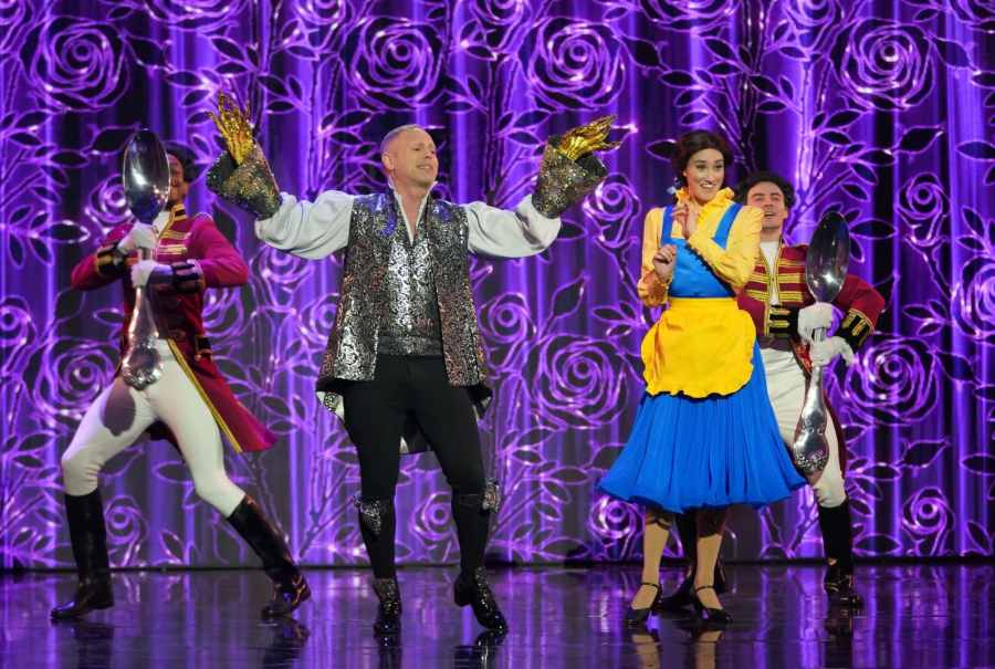 All Star Musicals on ITV - Robert Rinder performs Be Our Guest from Beauty and the Beast.