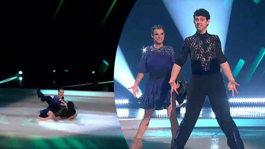 matt richardson dancing on ice fall