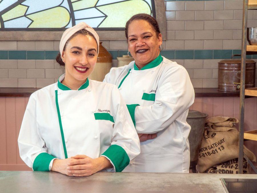Heat 1.  Sherrazade and Merryn – The Bristol Loaf.