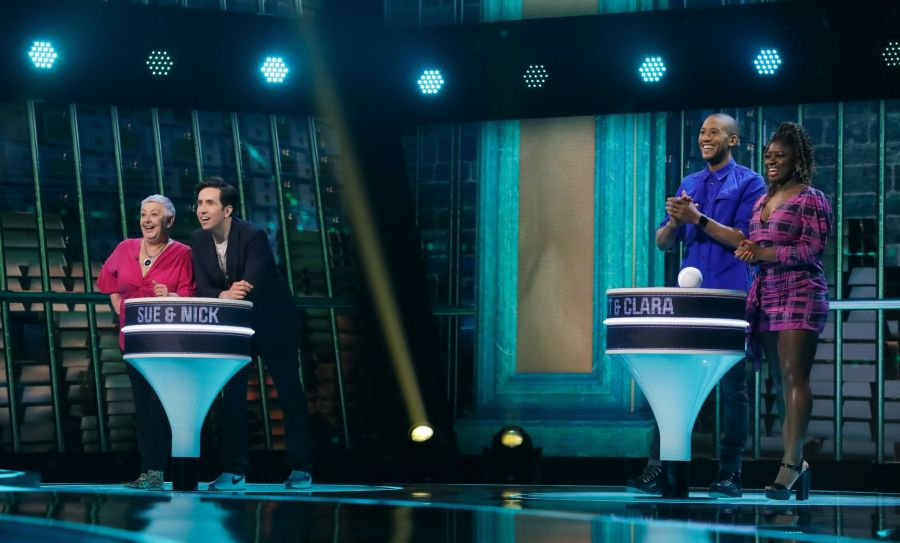 Game of Talents: Ep6 on ITV. Pictured: Sue and Nick Grimshaw and Matt and Clara Amfo. Picture: ITV/Thames