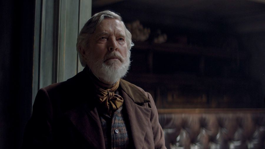 The North Water - Baxter (TOM COURTENAY) - (C) See-Saw Films - Photographer: Nicolas Bolduc