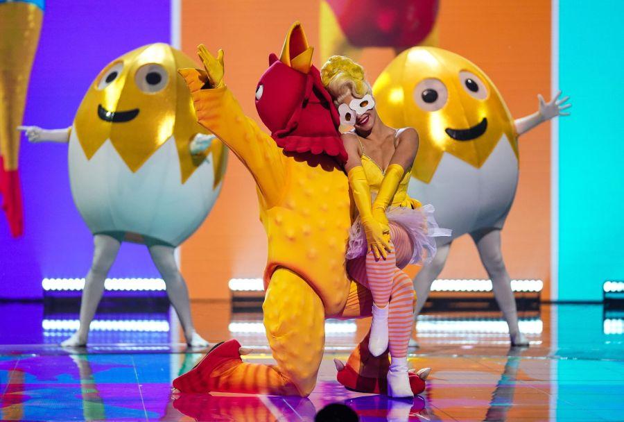 Rubber Chicken. Picture: ITV/©Bandicoot TV