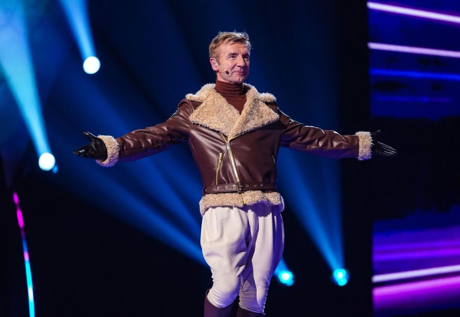 Christopher Dean as Beagle. Picture: ITV/©Bandicoot TV