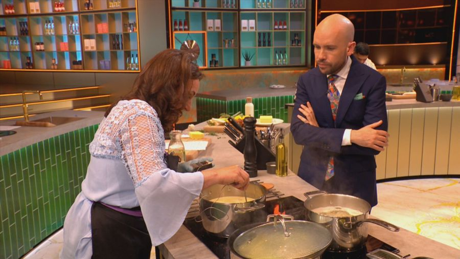 Shirley Ballas and Tom Allen. Picture: © South Shore