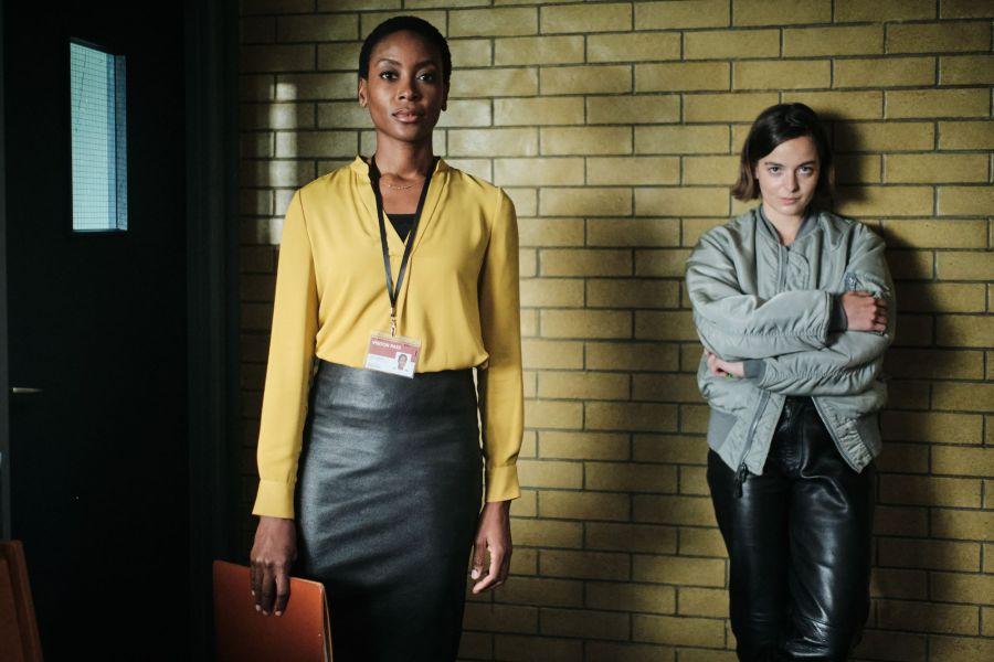 Showtrial - Cleo (TRACY IFEACHOR), Talitha (CELINE BUCKENS) - (C) World Productions - Photographer: Joss Barrett