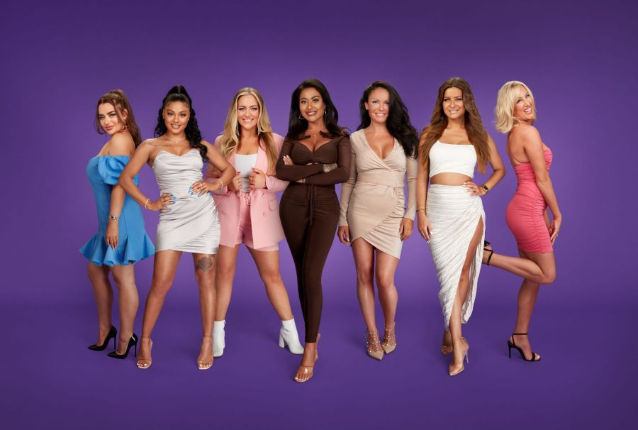 Married At First Sight ladies - Pictured: (L-R) Amy, Alexis, Megan, Nikita, Marilyse, Tayah and Morag.