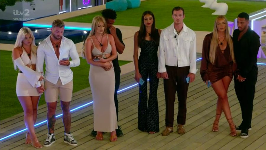 love island results who left tonight