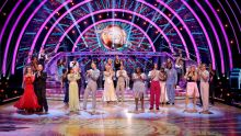 The Strictly Come Dancing 2021 Celebrities and Professional Dancers - (C) BBC - Photographer: Guy Levy