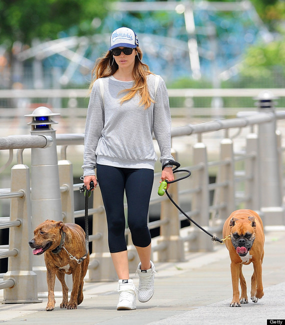 NEW YORK, NY - MAY 23:  Actress Jessica Biel as seen on May 23, 2013 in New York City.  (Photo by NCP/Star Max/FilmMagic)