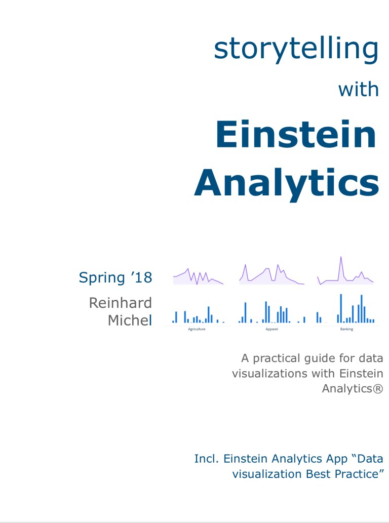 storytelling with Einstein Analytics | tell your data story