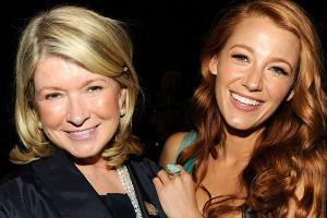 Blake Lively makes exception for Martha Stewart