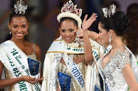 Miss Puerto Rico Valerie Hernandez