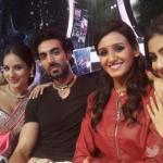Puja, Tushar, Shakti, and Mouni - Selfie time..