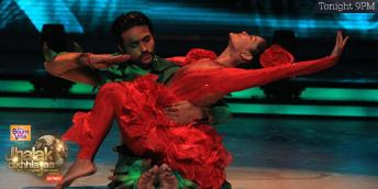Ashish dances sensuously with his partner Shampa