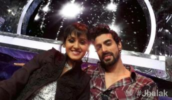 Shakti in an elegant selfie with Tushar