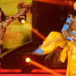 Shakti dances with her partner Tushar on mangal mangal song