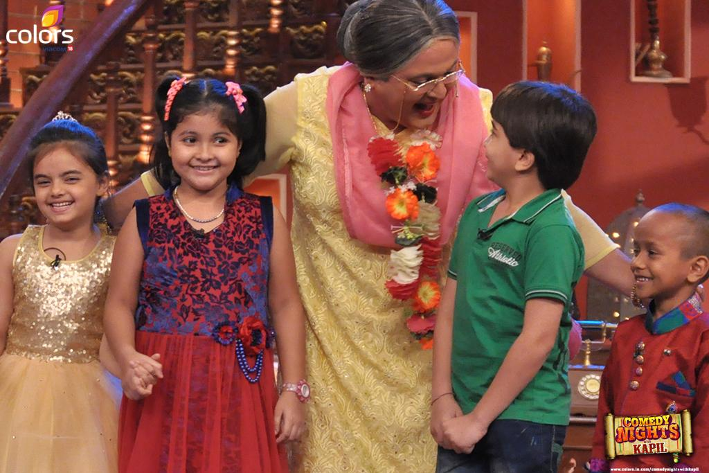 Comedy Nights With Kapil 22nd November 2014, Mona Singh, Adil