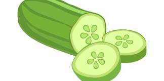 Deal with Summer with cool Cucumber