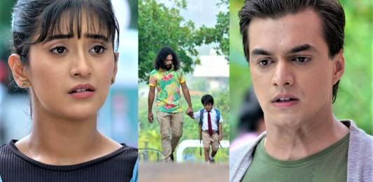 Yeh Rishta Cute Kairav in Trouble Kartik to meet Naira