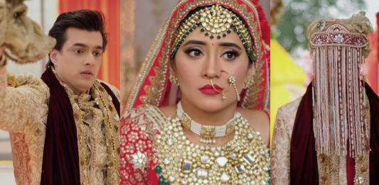 YRKKH Lav Kush groom swap twist in Kaira wedding