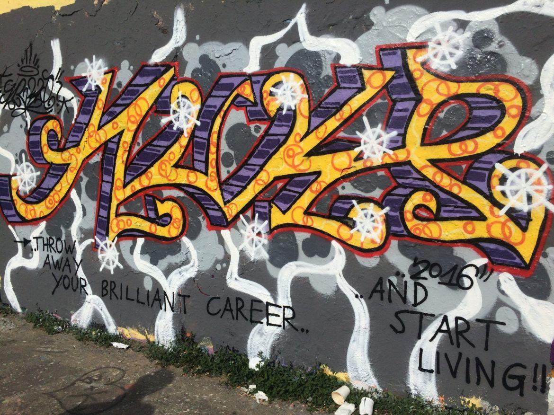 Qué ver y hacer en Berlín en 4 días: Muro de Berlín en Mauerpark
