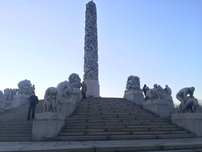 Qué ver en Oslo en 3 días: Parque Vigeland