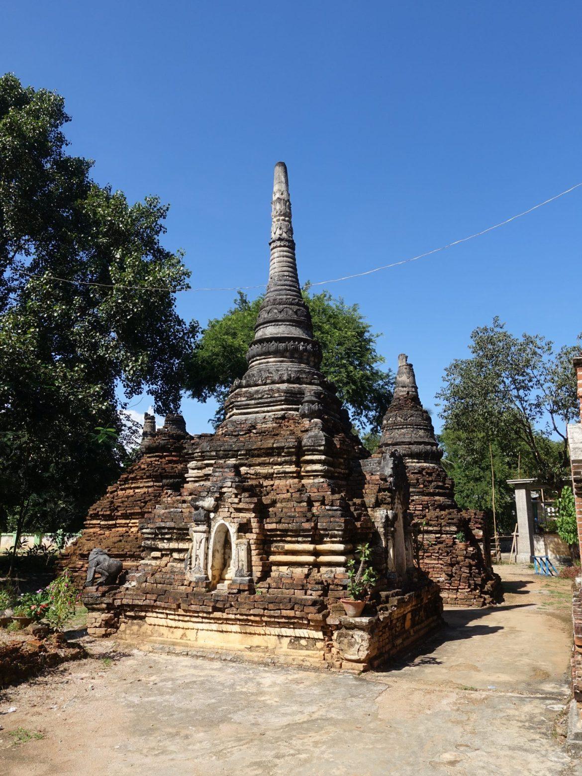 qué hacer en Hsipaw: little Bagan