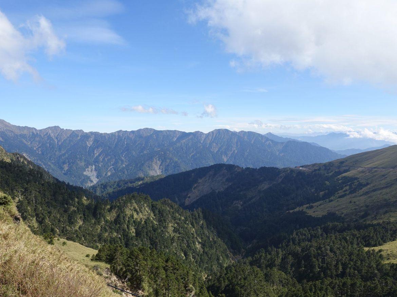 Guía para viajar al parque nacional de Taroko: vista desde el pico más alto