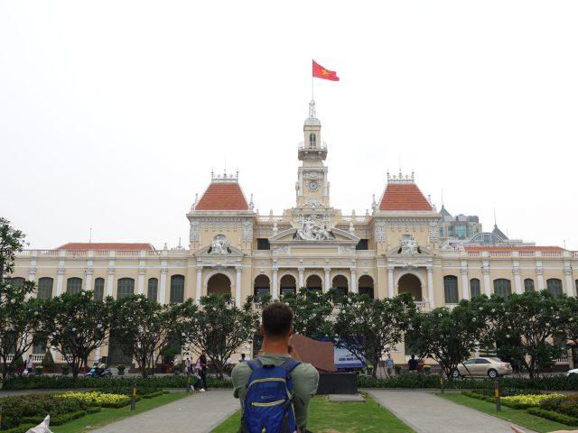 Qué ver y hacer en Ho Chi Minh: Ayuntamiento.