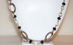 collar perlas facetado negro1