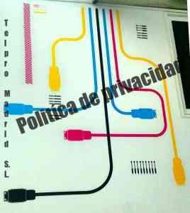 Politica de Privacidad Telpro Madrid