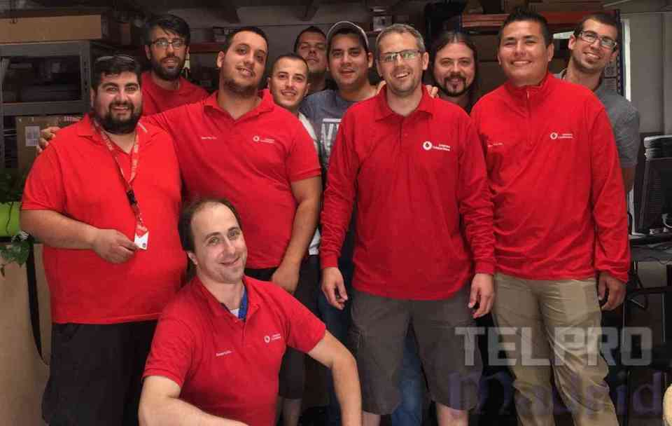 equipo red team telpro madrid - barbacoa en familia