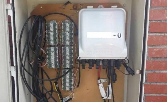 Instalación fibra óptica